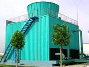 玻璃钢方形逆流式冷却塔