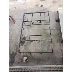 方形横流塔生产现场